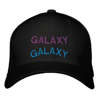 Warped Galaxy Hat Embroidered Hats