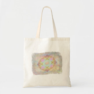 Warped Kaleidoscope - Light Colored Abstract Tote Bags