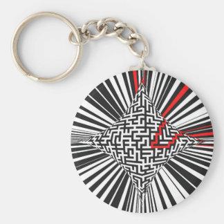 Warped Maze Explosion Key Ring
