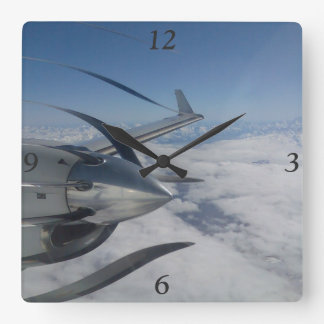 Warped Propeller Clock