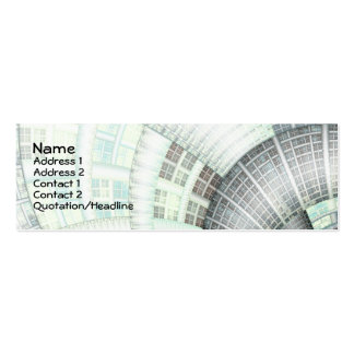 Warped Realities Business Card Templates