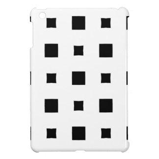 Warped squares design cover for the iPad mini