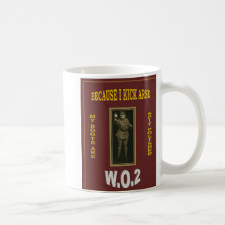 WARRANT OFFICER CLASS 2 BASIC WHITE MUG