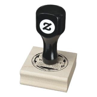 warranty 10 days rubber stamp