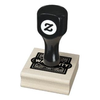warranty 1 day black stamp