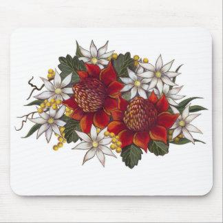 Warratha Flannel Flower Mouse Pad