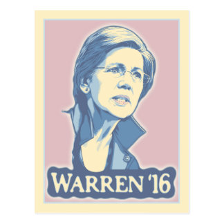 Warren '16 postcard