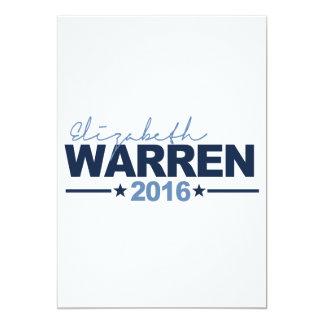 WARREN 2016 CAMPAIGN SIGN CUSTOM INVITE