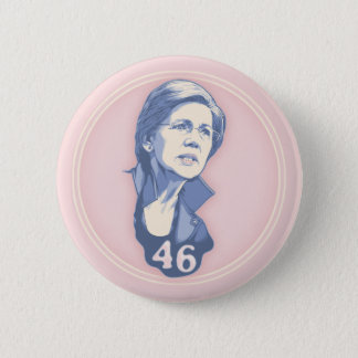 Warren 46 6 cm round badge
