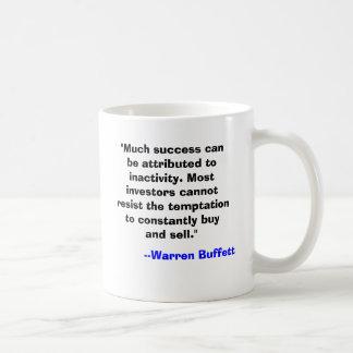 Warren Buffett Mug