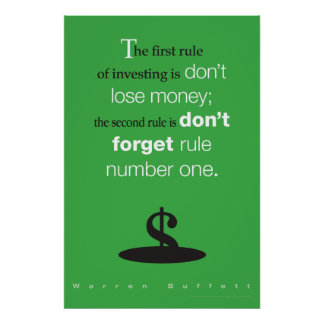 Warren Buffett poster
