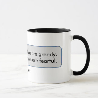 Warren Buffett Quote Fearful When Others Greedy Mug