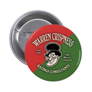 Warren Crispness - Ratings 6 Cm Round Badge