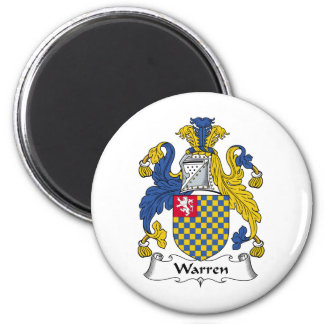 Warren Family Crest Magnet