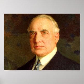 Warren G Harding Poster