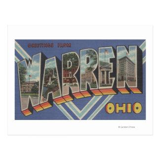 Warren, OhioLarge Letter ScenesWarren, OH Postcard