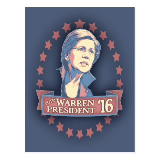 Warren Pres '16 Postcard