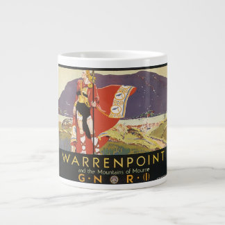 Warrenpoint and the Mountains of Mourne Large Coffee Mug