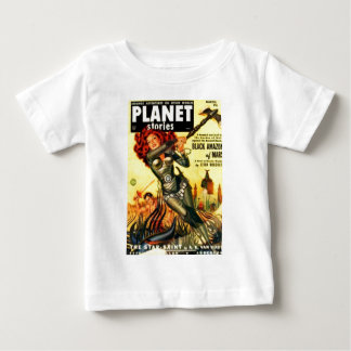 Warrier Maiden on Mars Baby T-Shirt
