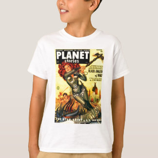 Warrier Maiden on Mars T-Shirt