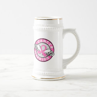 Warrior 14C Breast Cancer Coffee Mug