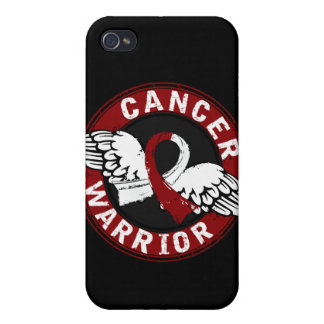 Warrior 14C Head and Neck Cancer iPhone 4/4S Case