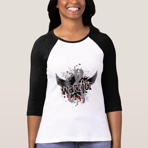 Warrior 16 Brain Tumor T Shirts