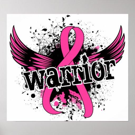 Warrior 16 Breast Cancer Print