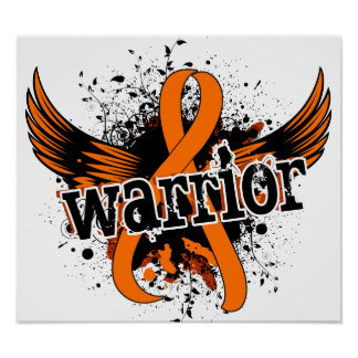 Warrior 16 Multiple Sclerosis Poster