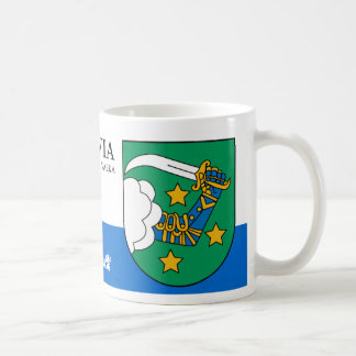 Warrior Arm with Sabre from Valka Latvia Coffee Mug
