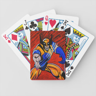 WARRIOR BICYCLE PLAYING CARDS
