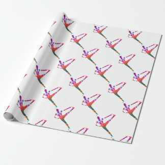 Warrior Boho Yoga Series Wrapping Paper