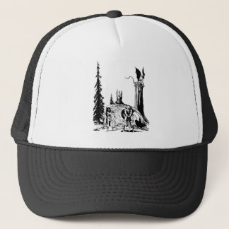 WARRIOR BORN ~ TRUCKER HAT