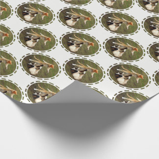 Warrior Cats Custom Background Wrapping Paper