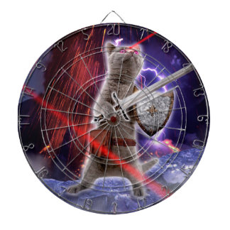 warrior cats - knight cat - cat laser dartboard