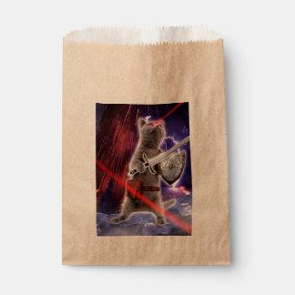 warrior cats - knight cat - cat laser favour bag