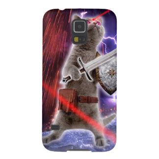 warrior cats - knight cat - cat laser galaxy s5 cases