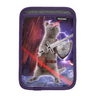 warrior cats - knight cat - cat laser iPad mini sleeve