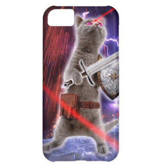 warrior cats - knight cat - cat laser iPhone 5C case