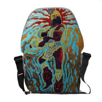 Warrior dancer - Amazing Mexico Backpack Courier Bag
