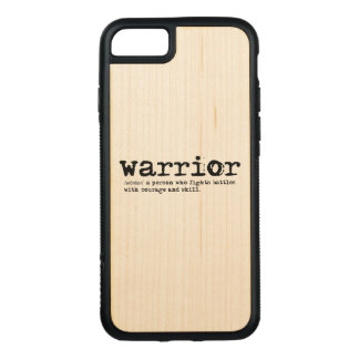 Warrior Definition Carved iPhone 8/7 Case