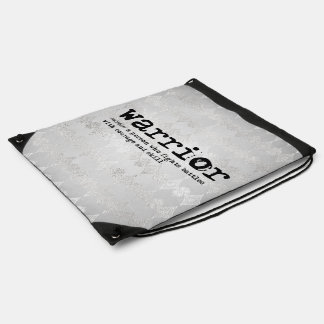 Warrior Definition Drawstring Bag