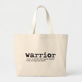 Warrior Definition Jumbo Tote