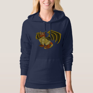 Warrior dragon cartoon Sweatshirt