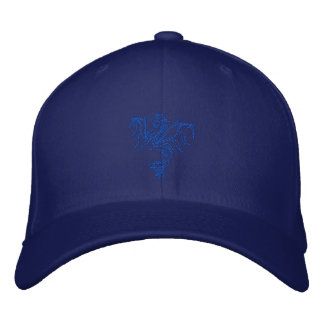 Warrior Dragon Embroidered Cap