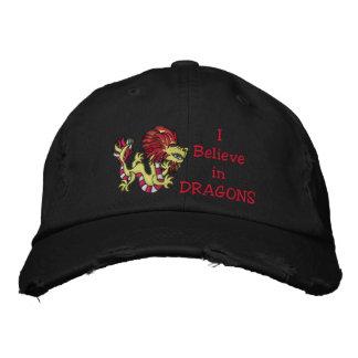 Warrior Dragon Embroidered Hat