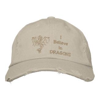 Warrior Dragon Embroidered Baseball Caps