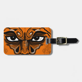 WARRIOR EYES MASK by Slipperywindow Luggage Tag
