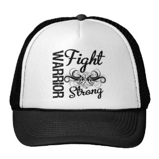 Warrior Fight Strong Bone Cancer Cap