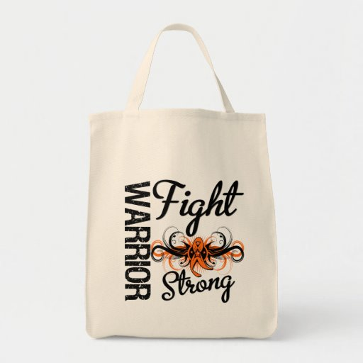 Warrior Fight Strong Leukemia Bag